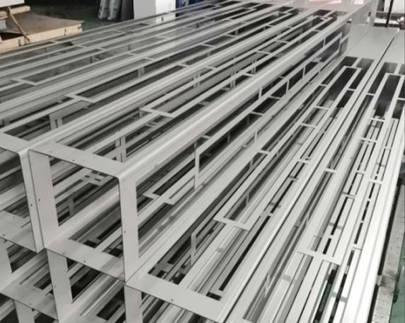 不锈钢灯柱剪板折弯