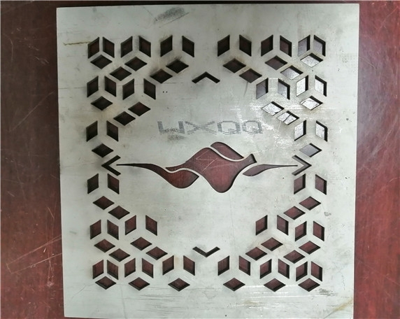 3mm工业板不锈钢激光切割
